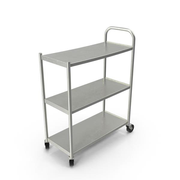 Metal Cart Object