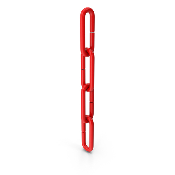 Metal Chain Red PNG & PSD Images