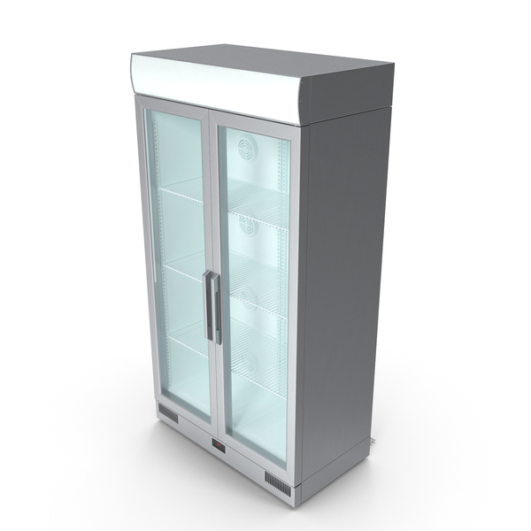 Metal Commercial Fridge PNG & PSD Images