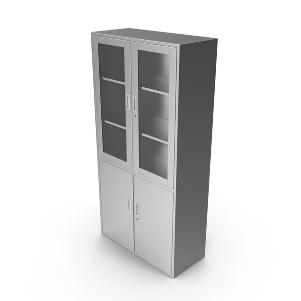 Metal Medical Cabinet PNG & PSD Images