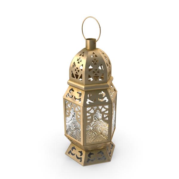 Metal Moroccan Lantern PNG & PSD Images