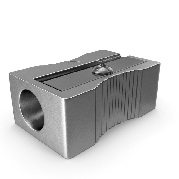 Metal Pencil Sharpener PNG & PSD Images