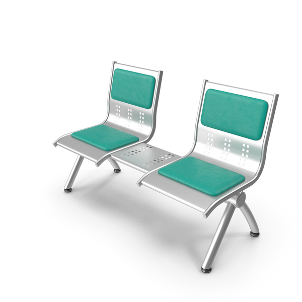 Metal Seats with Shelf PNG & PSD Images