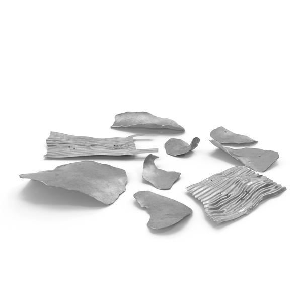 Metal Shrapnel Object