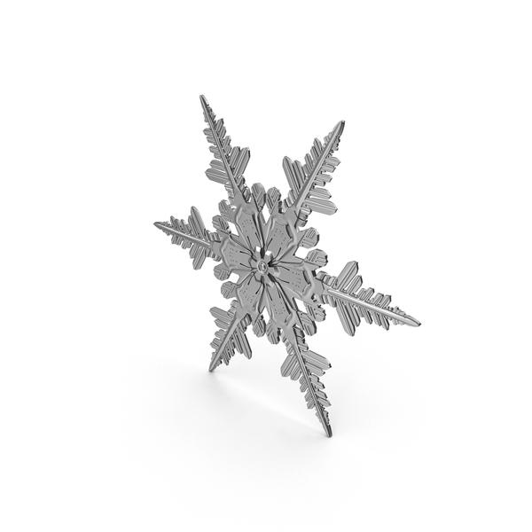 Metal Snowflake PNG & PSD Images