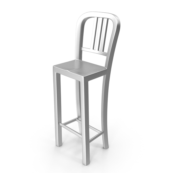 Metal Stool High PNG & PSD Images