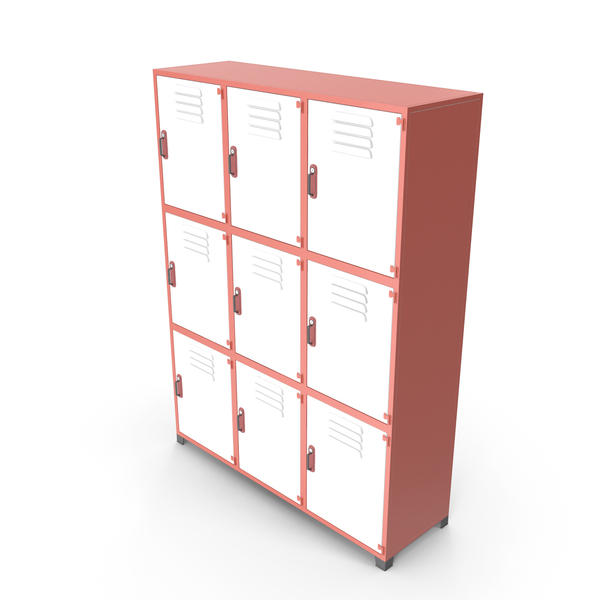 Locker: Metal Storage Cabinet PNG & PSD Images