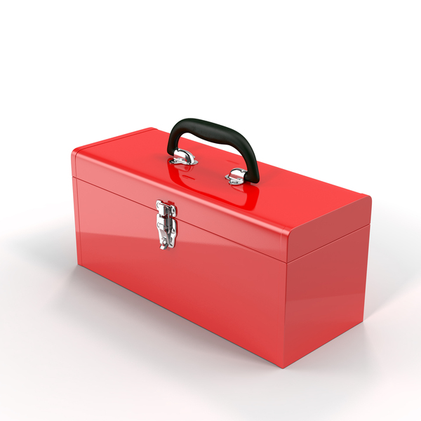 Toolbox: Metal Tool Box PNG & PSD Images