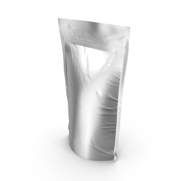 Container: Metallic Food Pouch PNG & PSD Images