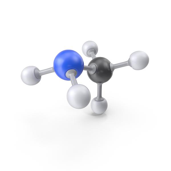 Methylamine Molecule PNG & PSD Images