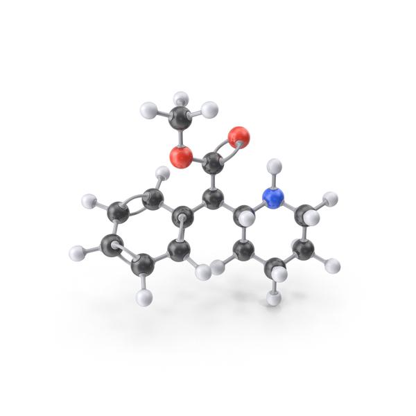 Methylphenidate Molecule PNG & PSD Images