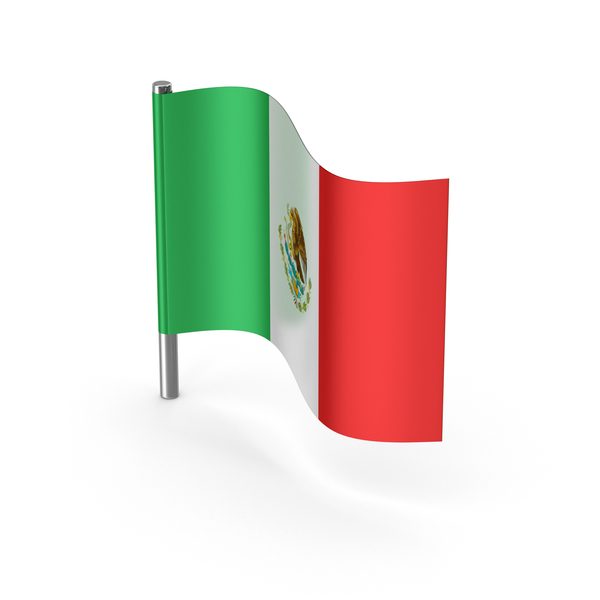 Mexico Cartoon Flag PNG & PSD Images