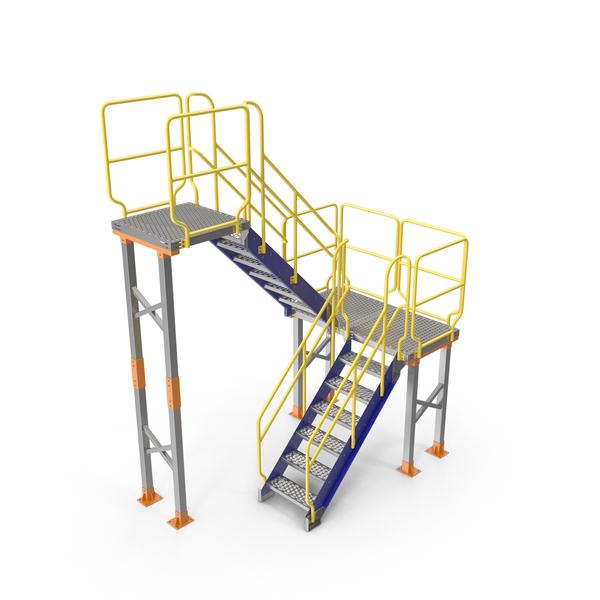 Mezzanine Access Platform PNG & PSD Images