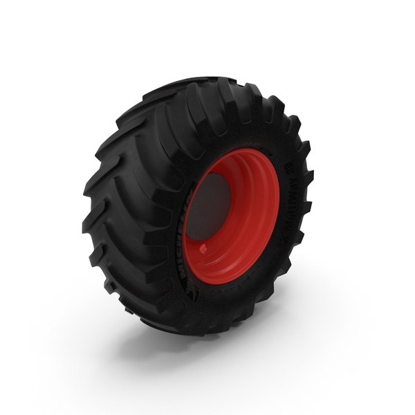 Truck: Michelin Tractor Wheel PNG & PSD Images