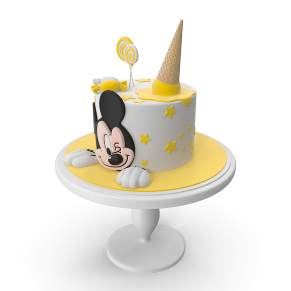Mickey Mouse Cake PNG & PSD Images