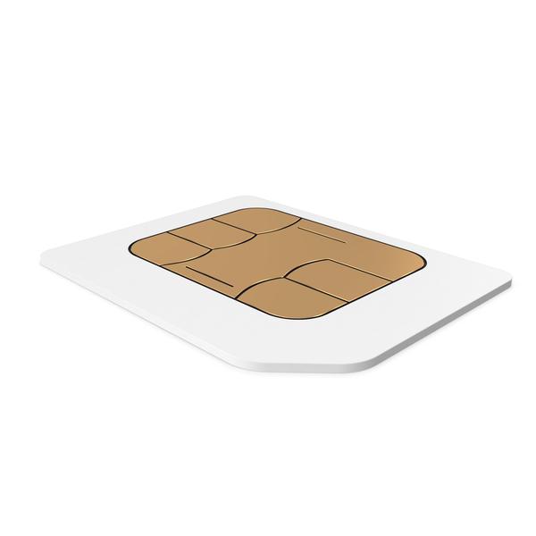 Micro Sim Card PNG & PSD Images