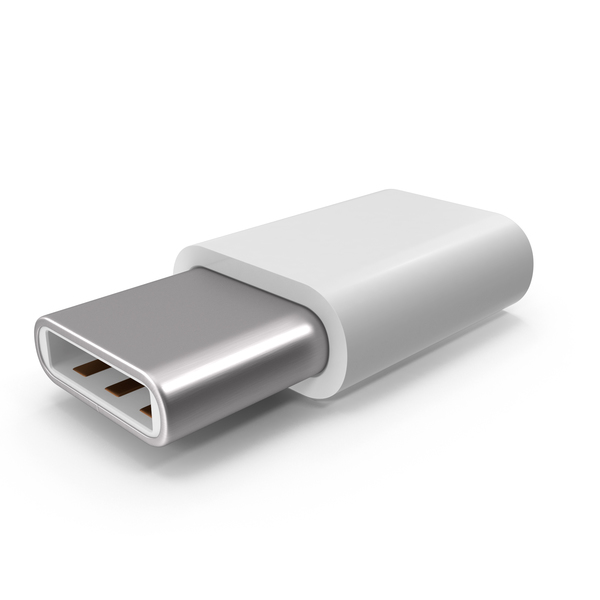 Usb Adapter: Micro-USB To Type-C PNG & PSD Images