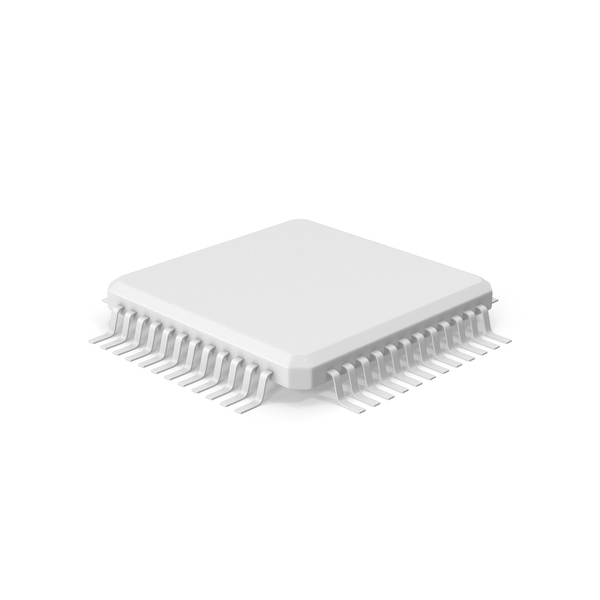 Computer Chip: Microchip Monochrome PNG & PSD Images