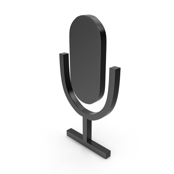 Computer: Microphone Black Icon PNG & PSD Images