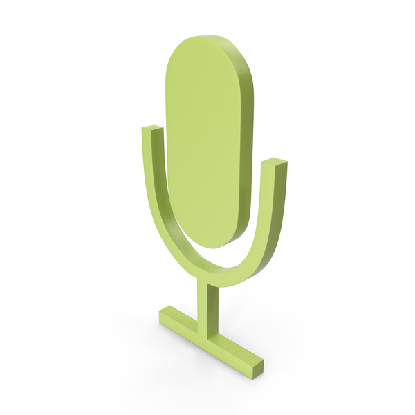 Computer: Microphone Green Icon PNG & PSD Images