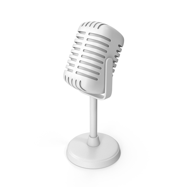 Microphone Monochrome PNG & PSD Images