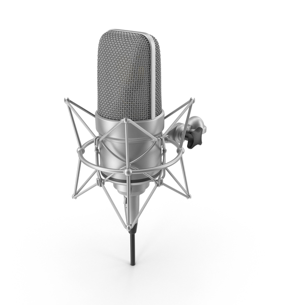 Microphone with XLR Cable PNG & PSD Images