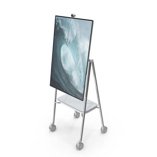 Tablet Computer: Microsoft Interactive Whiteboard Surface Hub 2 PNG & PSD Images