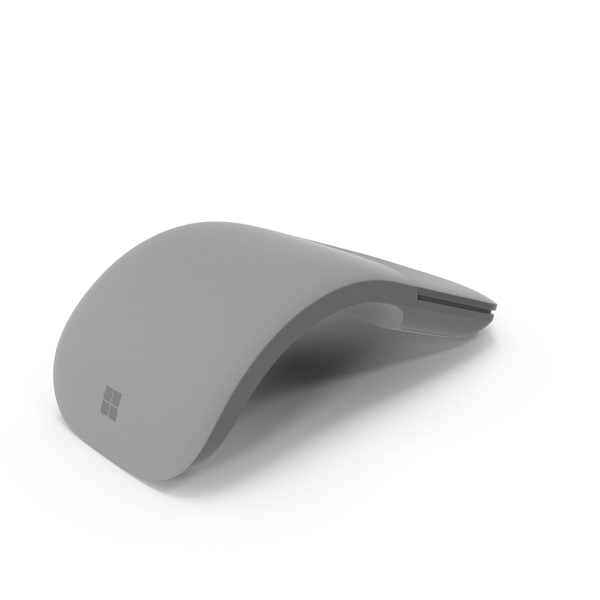 Microsoft Surface Arc Mouse PNG & PSD Images
