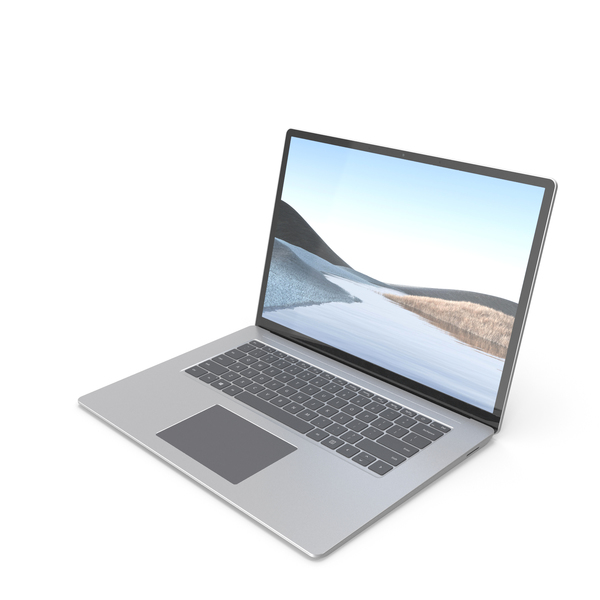 Microsoft Surface Laptop 3 15 inch PNG & PSD Images