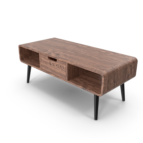 Mid-Century Coffee Table PNG & PSD Images