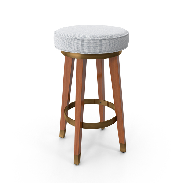 Mid-Century Modern Bar Stool PNG & PSD Images