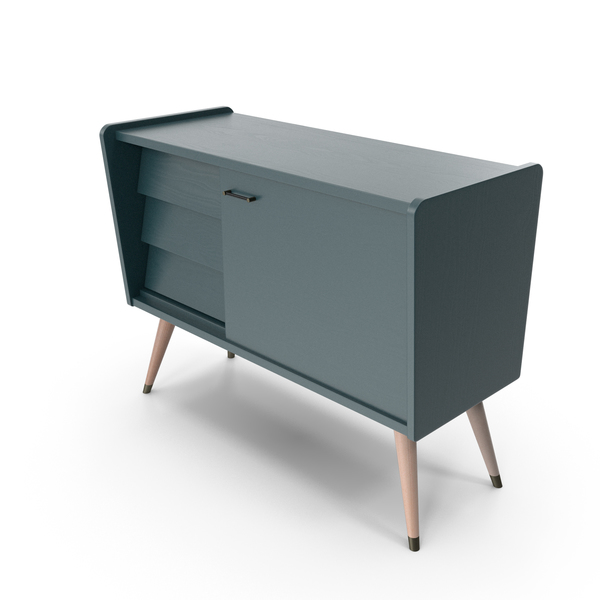 Sideboard: Mid-Century Modern Buffet PNG & PSD Images