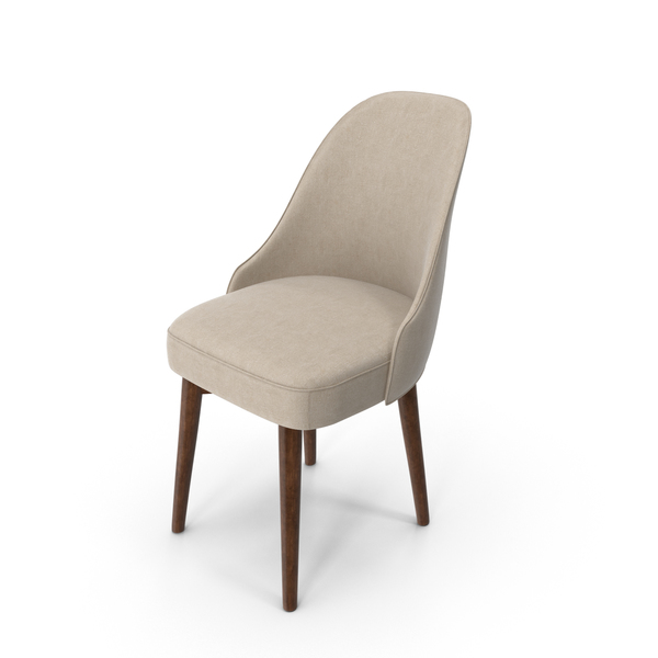 Mid-Century Modern Office Chair PNG & PSD Images