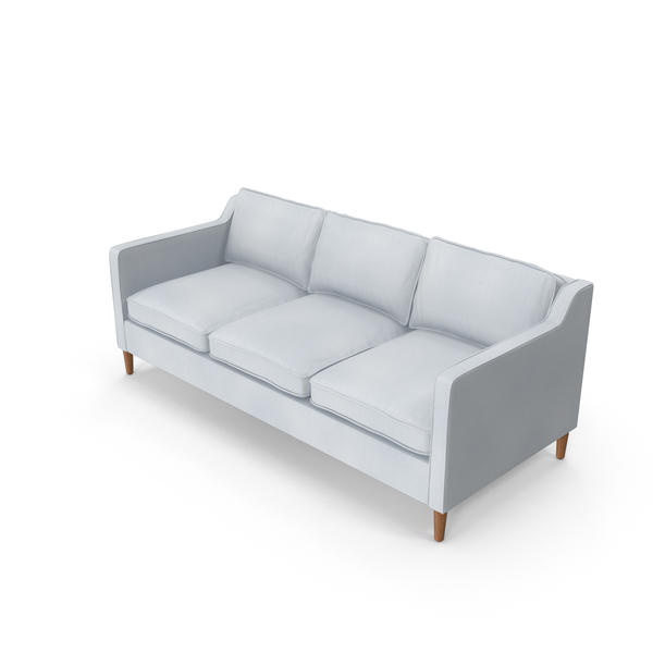Mid-Century Modern Sofa PNG & PSD Images
