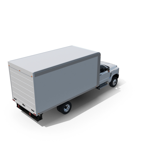 Midsize Box Truck PNG & PSD Images
