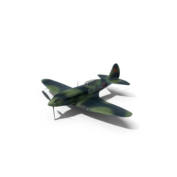 MIG-3 Soviet Fighter And Interceptor World War II PNG & PSD Images