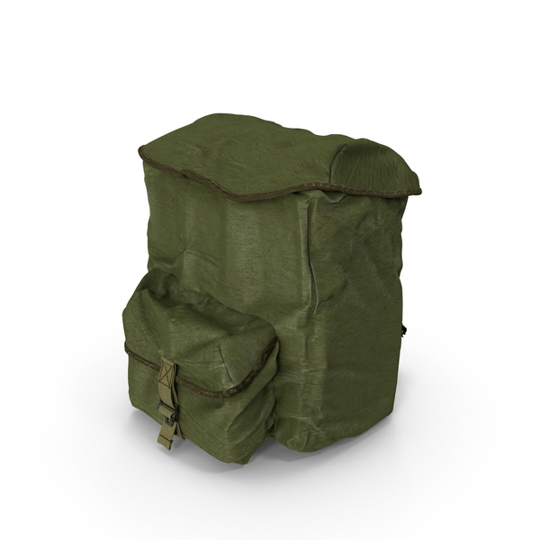 Military Backpack Object