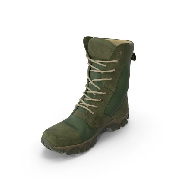 Boots: Military Boot PNG & PSD Images