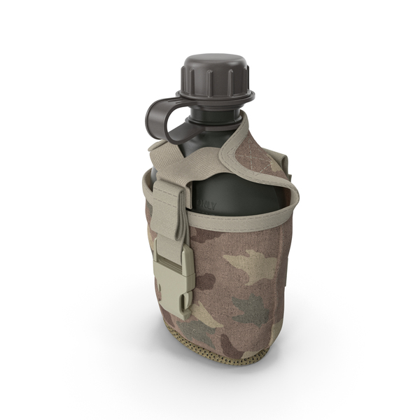 Military Bottle Water Canteen Travel Army PNG & PSD Images