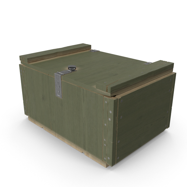 Ammunition Box: Military Crate PNG & PSD Images