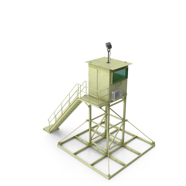 Military Guard Tower PNG & PSD Images