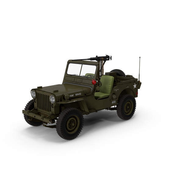 Army: Military Jeep Object
