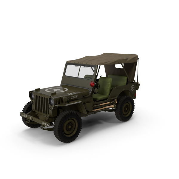 Army: Military Jeep PNG & PSD Images