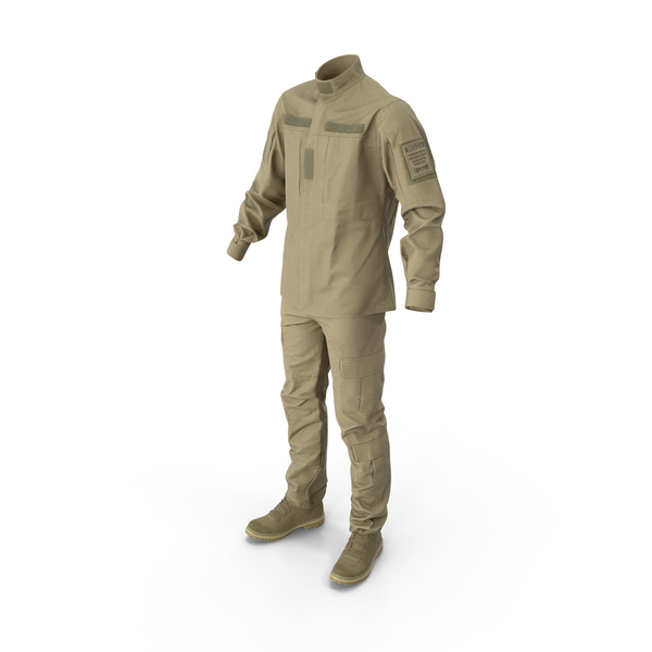 Military Uniform With Boots PNG & PSD Images