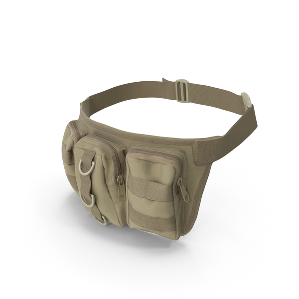 Backpack: Military Waist Bag PNG & PSD Images