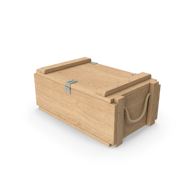 Ammunition Box: Military Wooden Crate PNG & PSD Images
