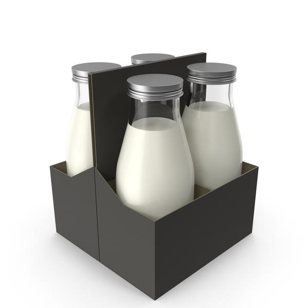 Milk Bottle Case PNG & PSD Images