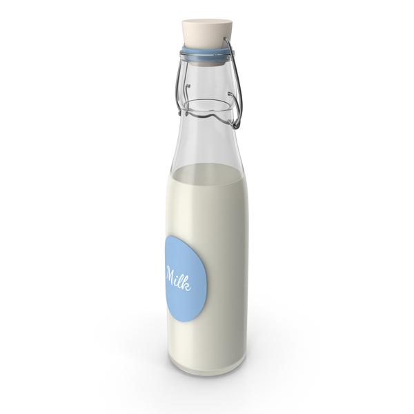 Jug: Milk Bottle Label PNG & PSD Images