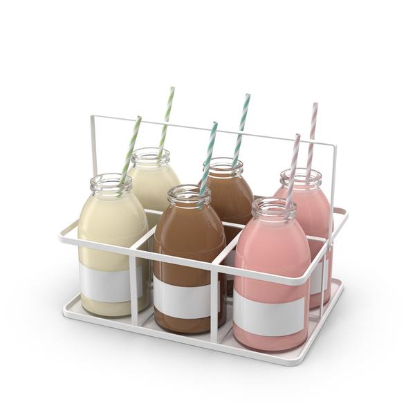 Milk Bottles PNG & PSD Images