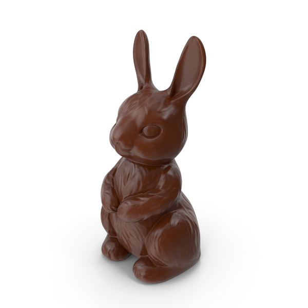 Milk Chocolate Bunny PNG & PSD Images